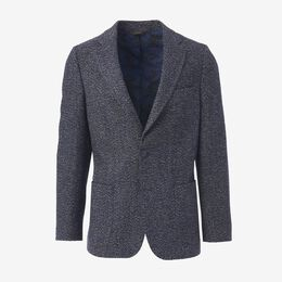 Carter Sport Coat, 1016476 Navy & Charcoal Marled Weave, blockout