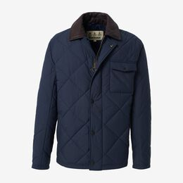 Evenwood Quilted Coat, 1018491 Navy, blockout