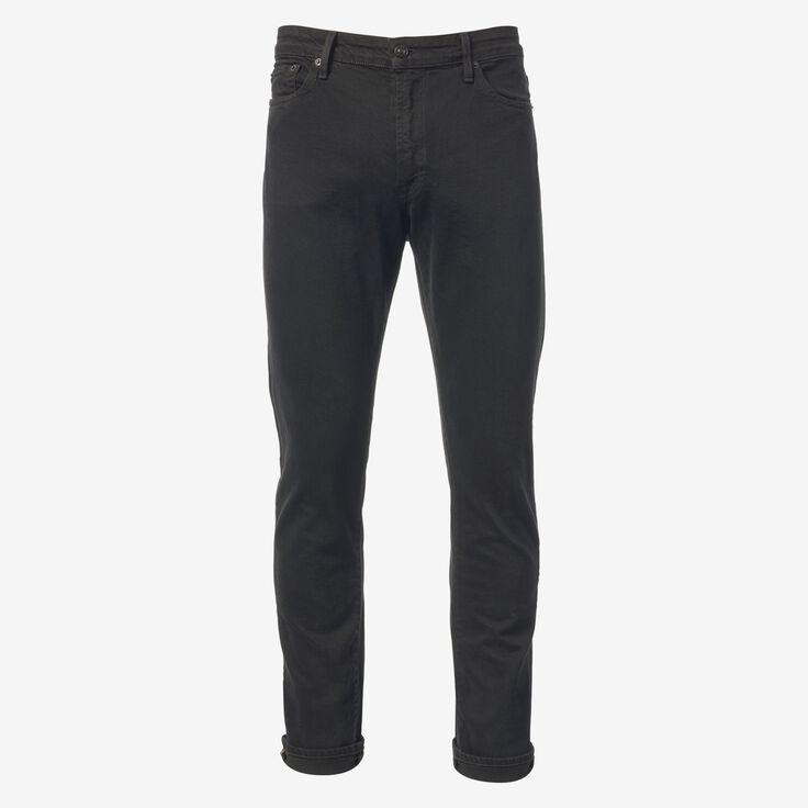 Walker Slim Straight Leg Jean in Black by Civilianaire, 1015107 Overdye Black, blockout
