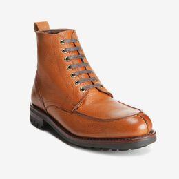 Rainier Split-toe Blucher Boot, 3583 Cognac, blockout