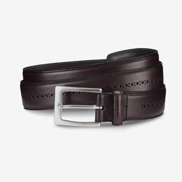 Douglas Street Casual Belt, 27515 Oxblood, blockout