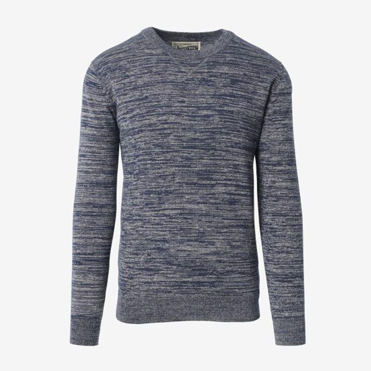 Crew Neck Sweater, 1018557 Blue, blockout