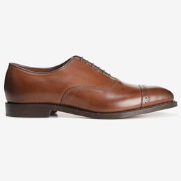 Fifth Avenue Cap-Toe Oxford, 2175 Coffee, blockout