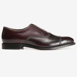 Park Avenue Shell Cordovan Cap-Toe Oxford, 5965 Burgundy, blockout