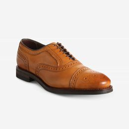 Strand Weatherproof Cap-Toe Oxford with Dainite Rubber Sole, 3355 Walnut, blockout