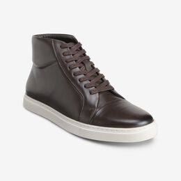 Cooper High Top Sneaker, 2702 Coffee, blockout