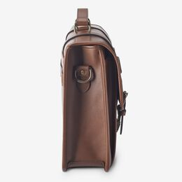 Legacy Flap Briefcase, 1016613 Brown, blockout