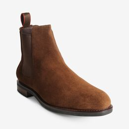 Nomad Chelsea Suede Boot, 2918 Brown, blockout