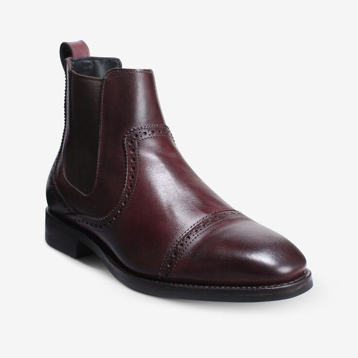 Lombard Chelsea Dress Boot, 4310 Merlot, blockout