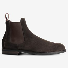 Nomad Chelsea Suede Boot, 2919 Chocolate Brown, blockout