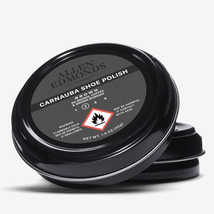 Carnauba Wax Polish, 1014996 Brown, blockout