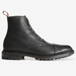 Surrey Cap-Toe Boot, 3674 Black, blockout
