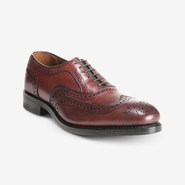 McAllister Wingtip Oxford with Dainite Rubber Sole, 6220 Oxblood, blockout