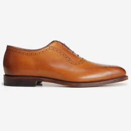 Cornwallis Dress Oxford, 1055 Walnut, blockout