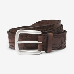 Logan Maxwell Casual Belt, 1016124 Tan, blockout