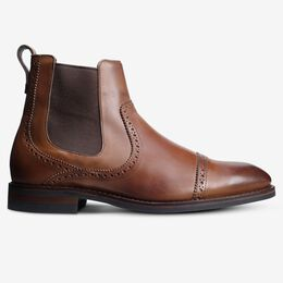 Lombard Chelsea Dress Boot, 4306 Walnut, blockout