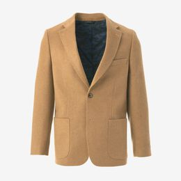 Carter Sport Coat, 1016475 Camel Brushed Wool, blockout