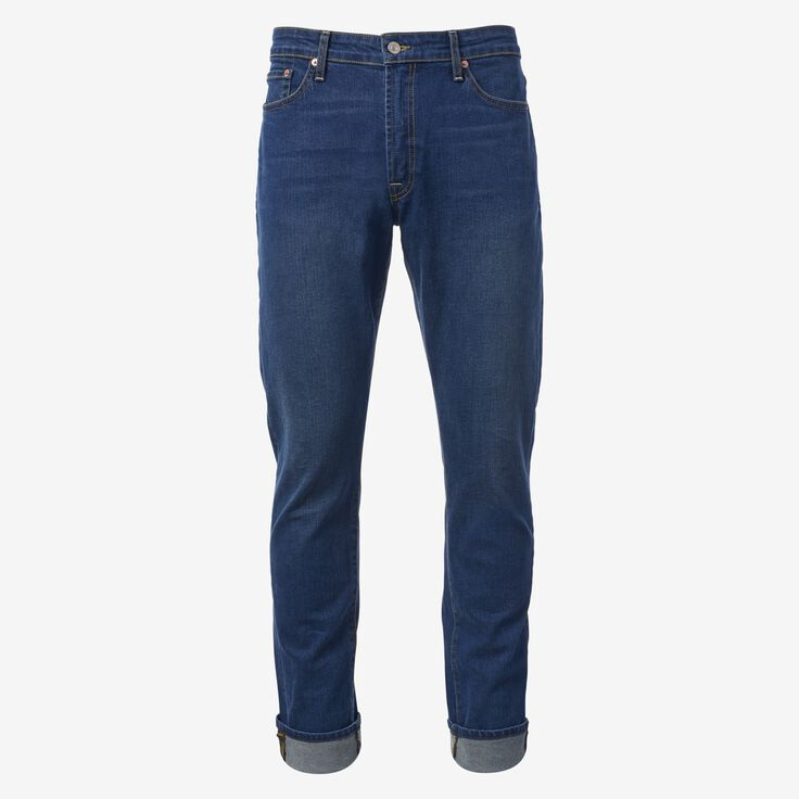 Walker Slim Straight Leg Jean in Medium Rinse by Civilianaire, 1015108 Medium Rinse, blockout