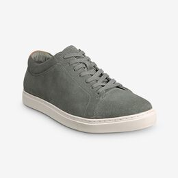 Canal Court Suede Sneaker, 3166 Sage Green, blockout