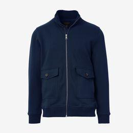 Bayside Full Zip Fleece, 1016473 Navy, blockout