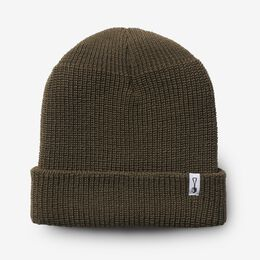 Wool Knit Beanie by American Trench, 1018428 Olive, blockout