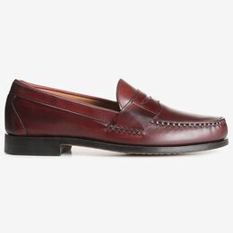Factory 2nd - Cavanaugh Penny Loafers, 50026S Oxblood Calf, blockout
