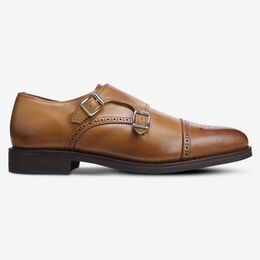 St. Johns Double Monk Strap with Dainite Rubber Sole, 4230 Walnut, blockout