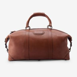 Saddle Leather Collection - Duffle Bag, 96902A Tan Saddle Leather, blockout
