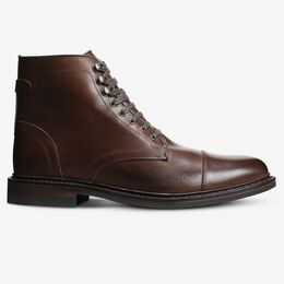 Landon Cap-Toe Boot, 3974 Mahogany, blockout