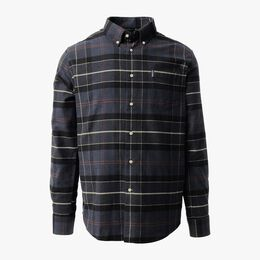 Lustleigh Tartan Plaid Shirt, 1018414 Navy, blockout