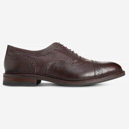 Strandmok Weatherproof Cap-Toe Oxford with Dainite Rubber Sole, 3284 Brown Grain, blockout