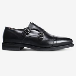 Marin Double Monk Strap with Dainite Rubber Sole, 4260 Black, blockout