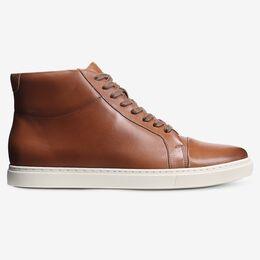 Cooper High Top Sneaker, 4250 Walnut, blockout