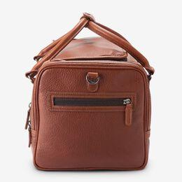 American Grain Collection - Half Moon Zip Duffle Bag, 1016860 Tan, blockout