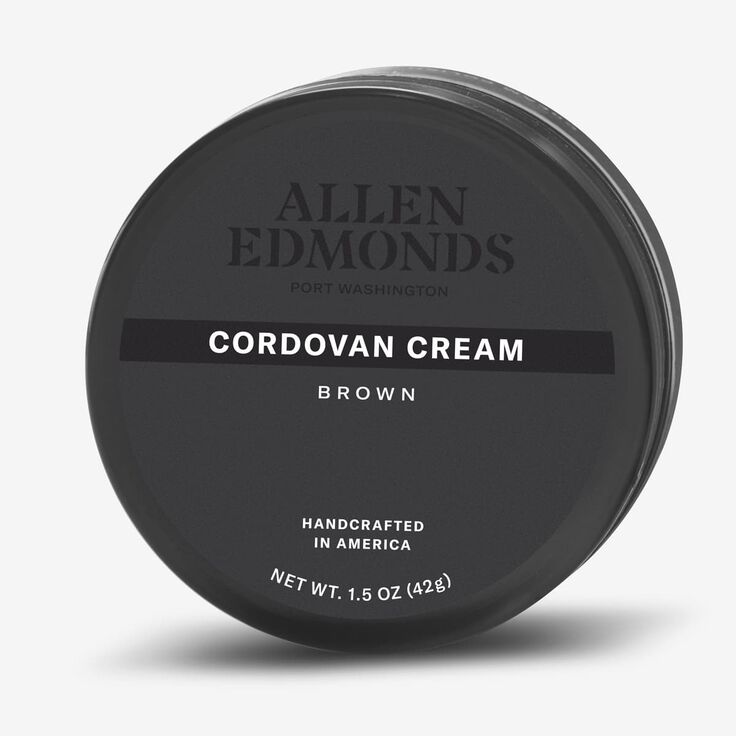 Cordovan Cream Polish, 1017940 Brown, blockout