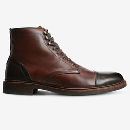 Landon Cap-Toe Boot, 3976 Chili/Brown Toe & Heel, blockout