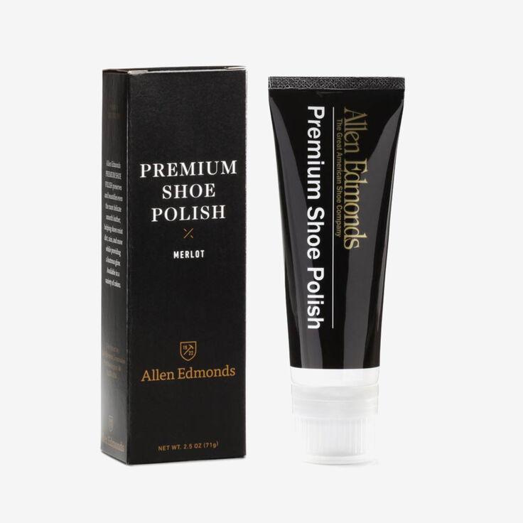 Premium Shoe Polish, 579 Merlot, blockout