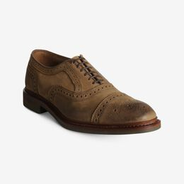 Strandmok Cap-Toe Oxford with Dainite Rubber Sole, 2906 Tan Nubuck, blockout