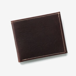 Rough Oiled Wallet, 1203ROIL Brown, blockout