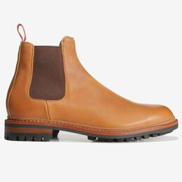 Factory 2nd - Surrey Chelsea Boot, 7191S Tan, blockout