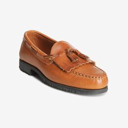 Nashua Tassel Loafer, 42252 Tan with Tan Trim, blockout