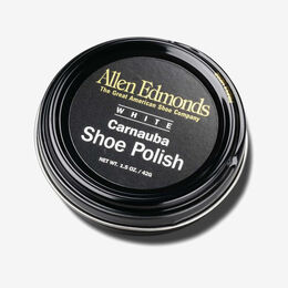 Carnauba Shoe Polish, 658 White, blockout