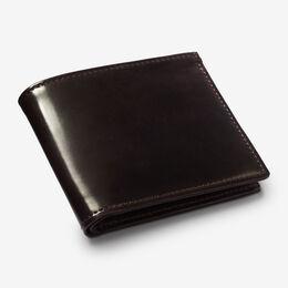 Cordovan Street Bifold Wallet, 1015371 Burgundy, blockout
