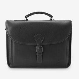 American Grain Collection - Slim Briefcase, 1017031 Black, blockout