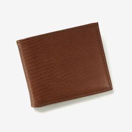 RFID Vachetta Executive Bifold Wallet, WLMBRN2R Brown, blockout