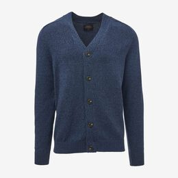 Rogers Cardigan Sweater, 1017547 Blue, blockout