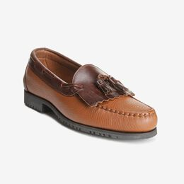 Nashua Tassel Loafer, 42253 Brown with Brown Trim, blockout