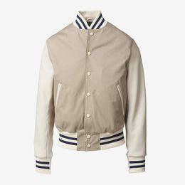 Dean Varsity Jacket by Golden Bear, 1017469 Khaki, blockout