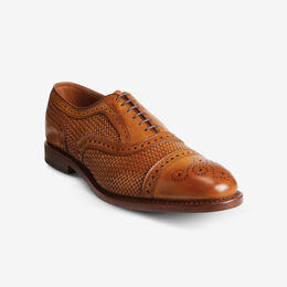 Strand Weave Cap-Toe Oxford, 2198 Walnut, blockout