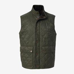 Rosemount Quilted Vest, 1018408 Olive, blockout